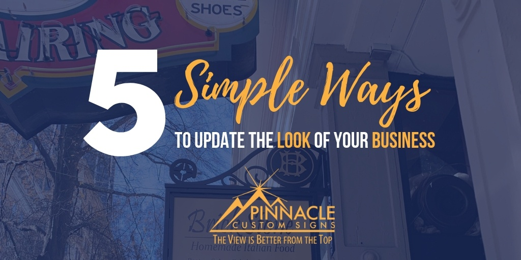 5 Simple Ways to Update the Look of Your Business