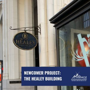 The Historic Healey Building Tenant Building Signs
