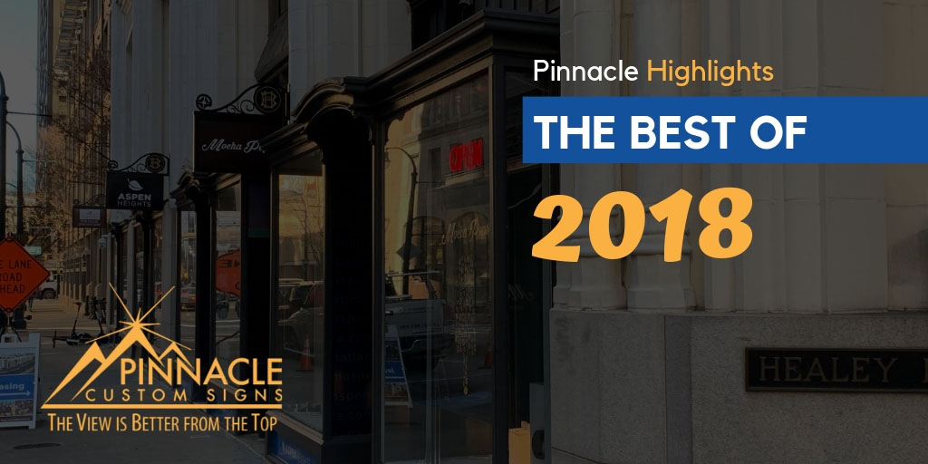 Pinnacle Highlights the Best of 2018
