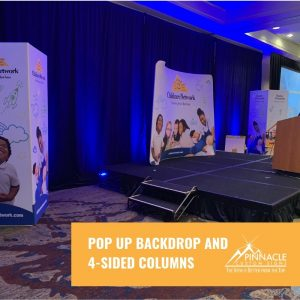 pop up backdrops for trade expos