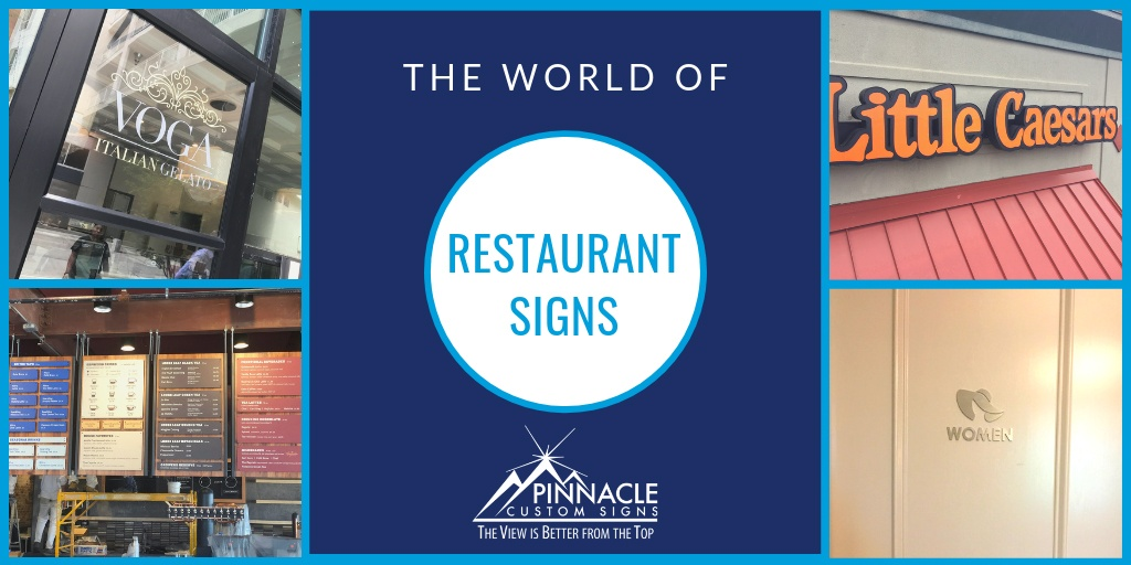 The World of Restuarant Signage