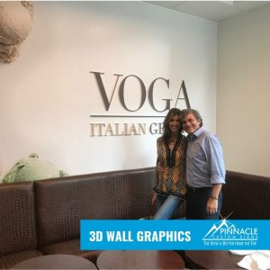 3D Wall Graphics for restaurants