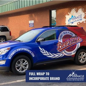 vehicle graphics can help brand your business