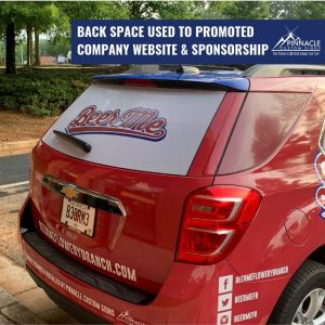rear window graphics is a great way to use vinyl decals