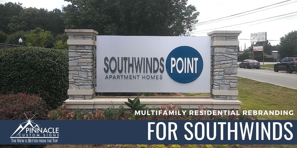 Southwind Point Apartment Signs